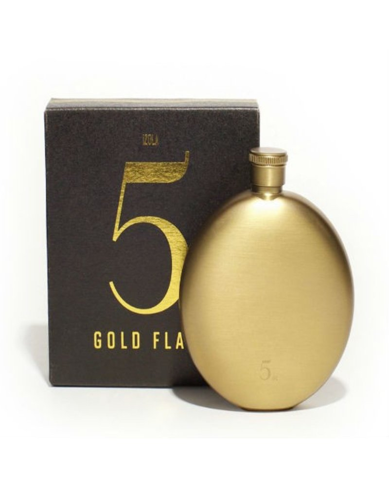 Gold Flask 5oz