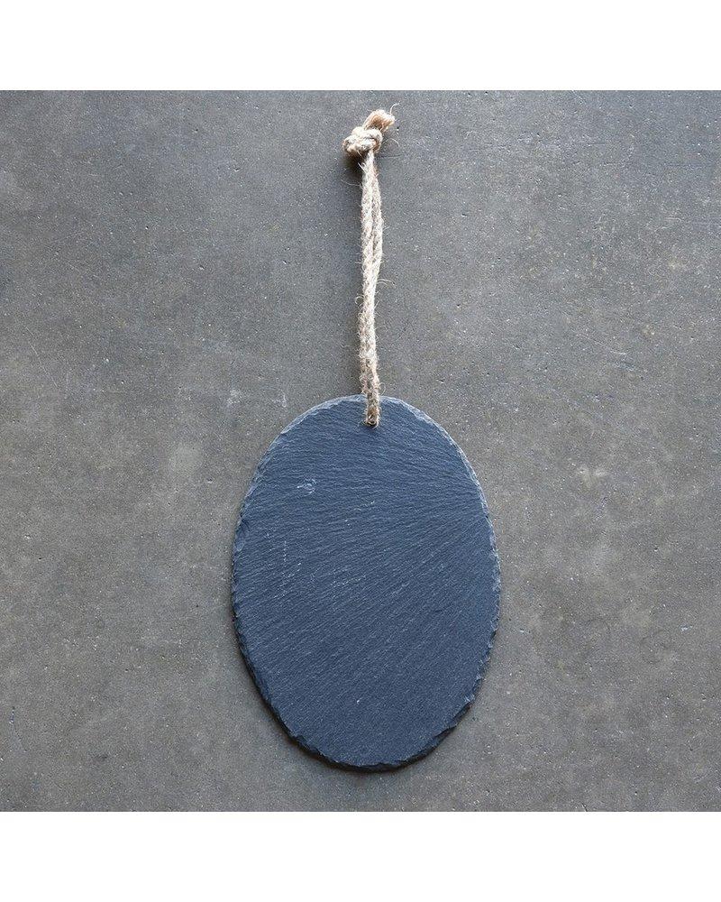 HomArt Slate Hanging Board - Oval