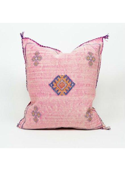 Bryar Wolf Moroccan Pillow - Sous Print 20x20