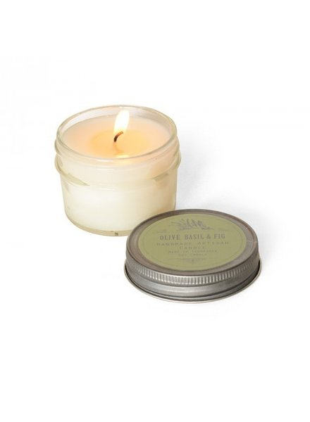 flashpoint candle Olive Oil, Basil, Fig Candle