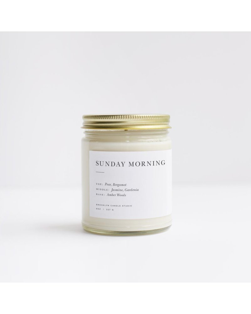 Brooklyn Candle Studio Sunday Morning Candle 8oz