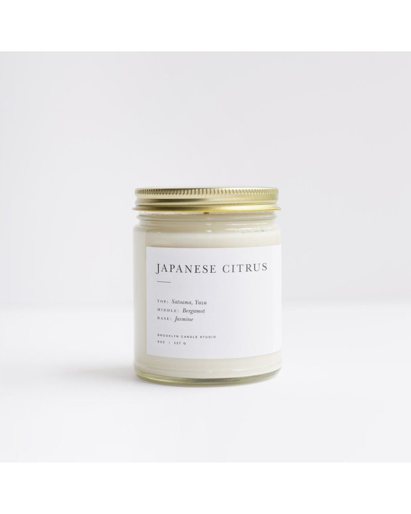 Brooklyn Candle Studio Japanese Citrus Candle 8oz