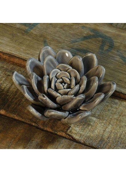 HomArt Ceramic Succulent - Soft Lilac