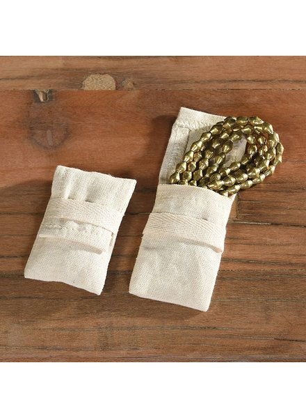 HomArt Jewelry Cotton Pouch - Small Set of 6