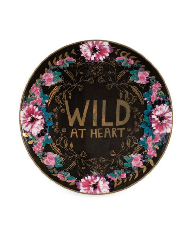 Papaya Wild at Heart Trinket Tray