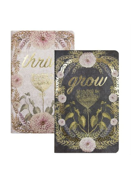 Papaya Thrive Grow Notebooks Set of 2
