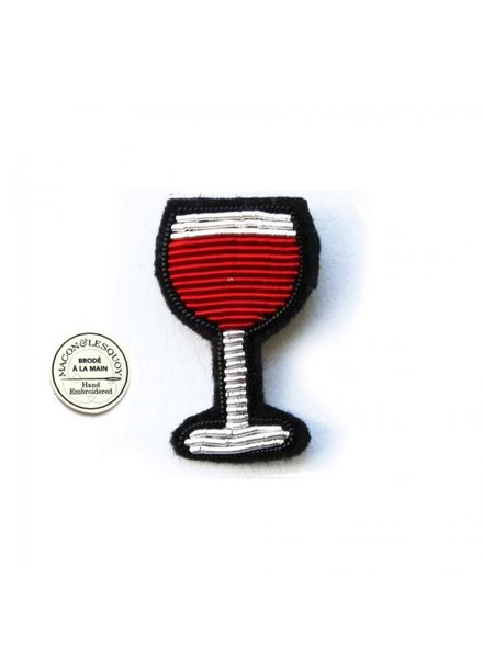 Macon & Lesquoy Pins Red Wine Pin
