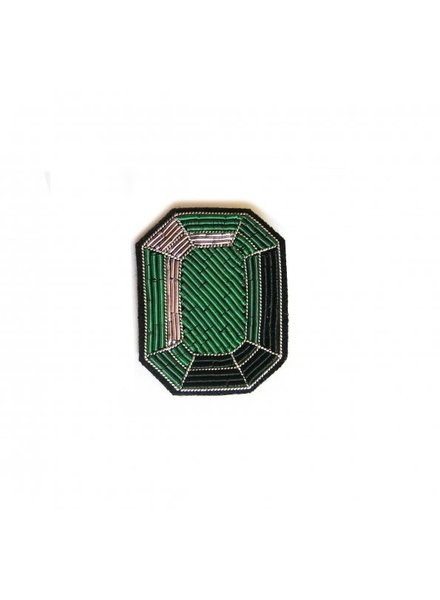 Macon & Lesquoy Pins Emerald Pin