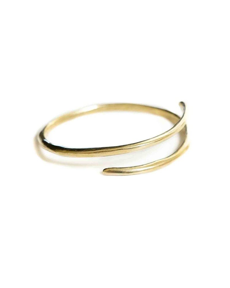 Marisa Mason Eternity Brass Bangle