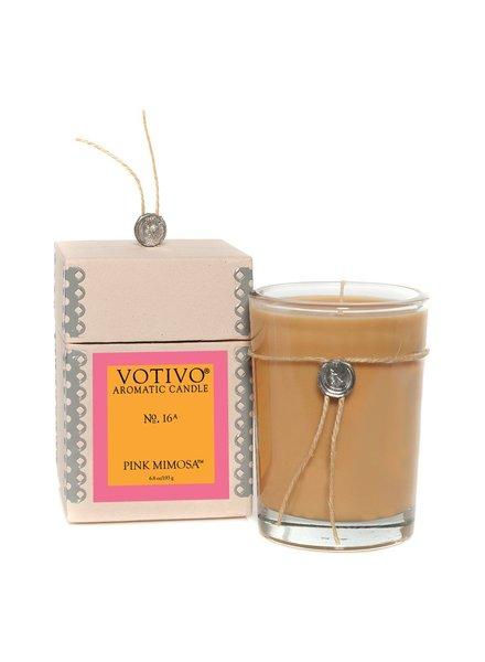 Pink Mimosa Candle No. 16