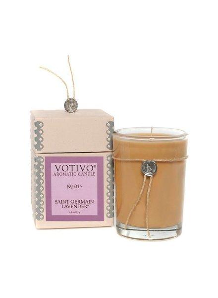 Saint Germain Lavender Votivo Candle No.03