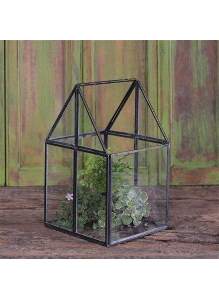 HomArt Pierre House Glass Terrarium - Small