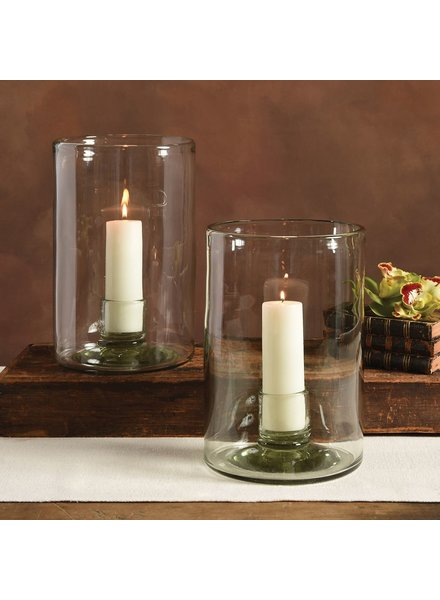 HomArt Recycled Glass Lucia Hurricane with Cup
