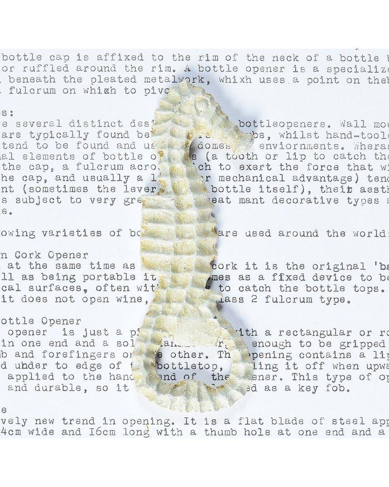 HomArt HomArt Seahorse Bottle Opener in White - Set of 2
