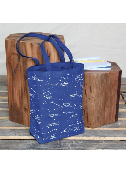 HomArt Canvas Tote - Constellations