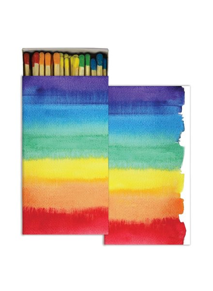 HomArt Matches - Watercolor Rainbow  - Set of 3