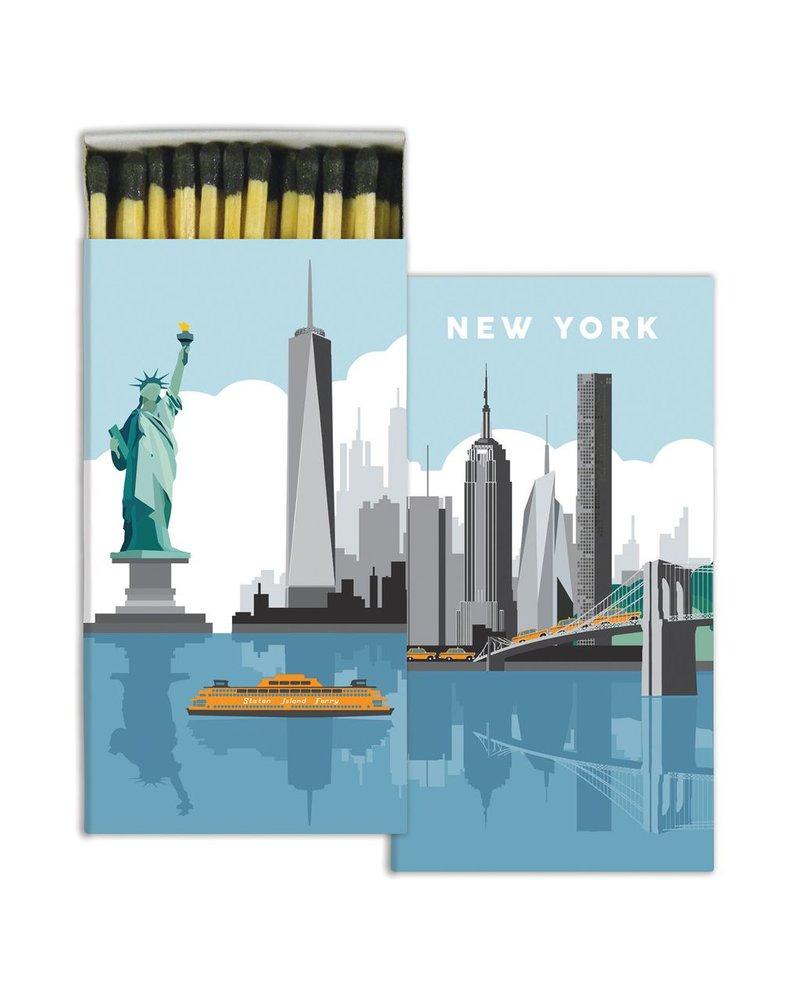 HomArt Matches - New York  - Set of 3