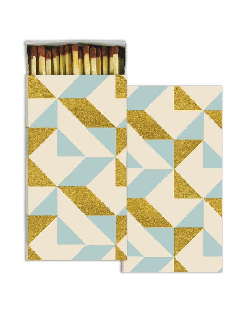 HomArt Matches - Colette Graphic - Gold Foil - Set of 3
