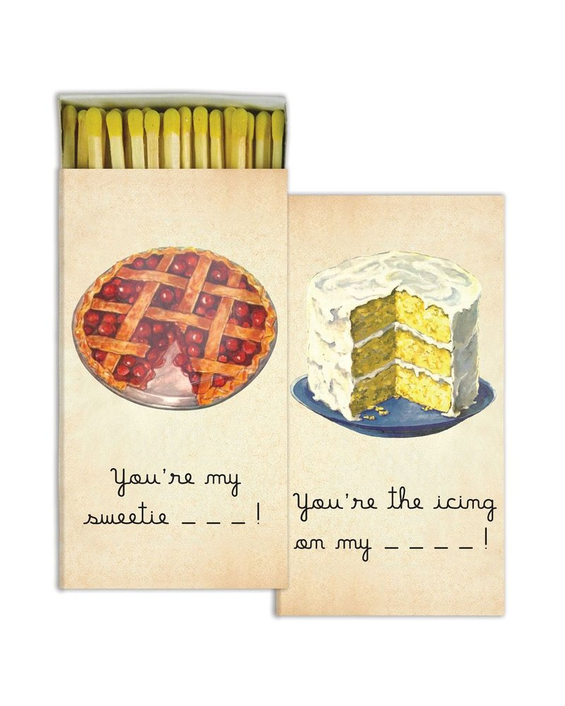 HomArt Matches - Sweet Things - Set of 3