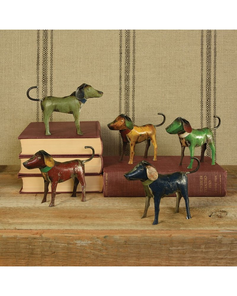 HomArt Metal Dogs - Assorted Colors - Set of 2