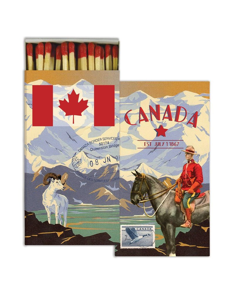 HomArt Matches - Canada  - Set of 3
