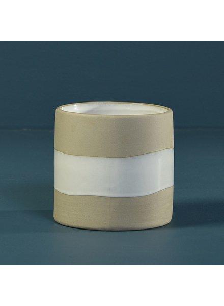 HomArt Shore Ceramic Cylinder Vase - Tall - Sm