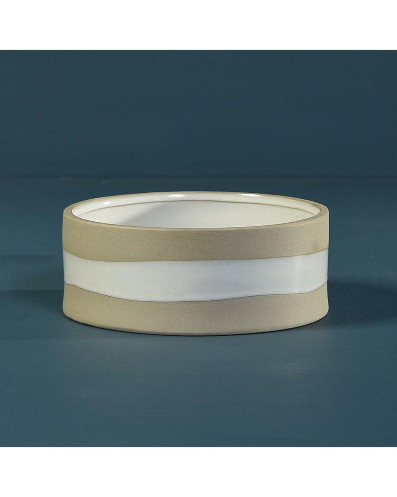 HomArt Shore Ceramic Cylinder Vase - Tall - Low