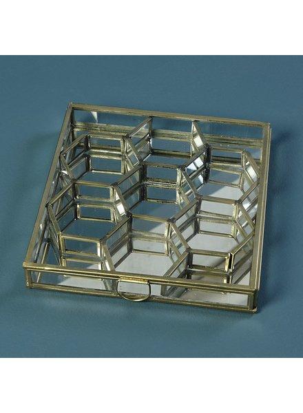 HomArt Monroe Honeycomb Divided Box - Sm