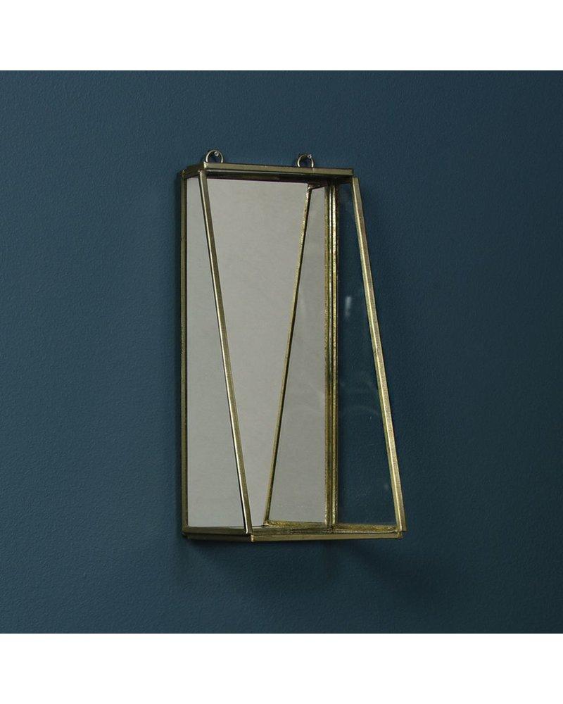 HomArt Monroe Mirror with Shelf - Sm