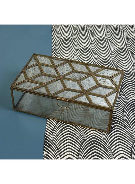 HomArt Monroe Mirror Top Box - Mirror Top