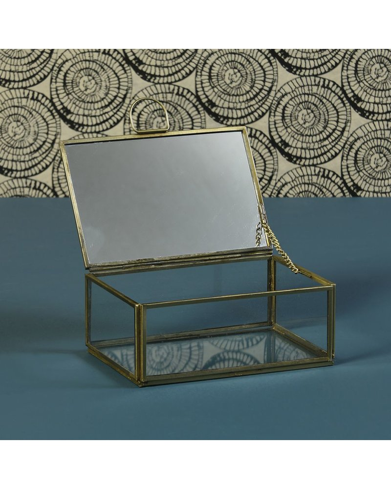 HomArt Monroe Jewelry Box with Mirror - Sm