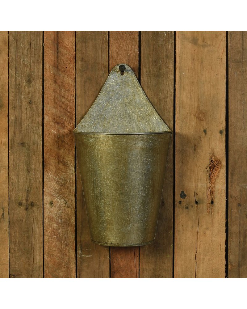 HomArt Avery Iron Wall Bucket - Sm