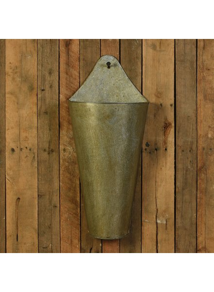 HomArt Avery Iron Wall Bucket - Lrg