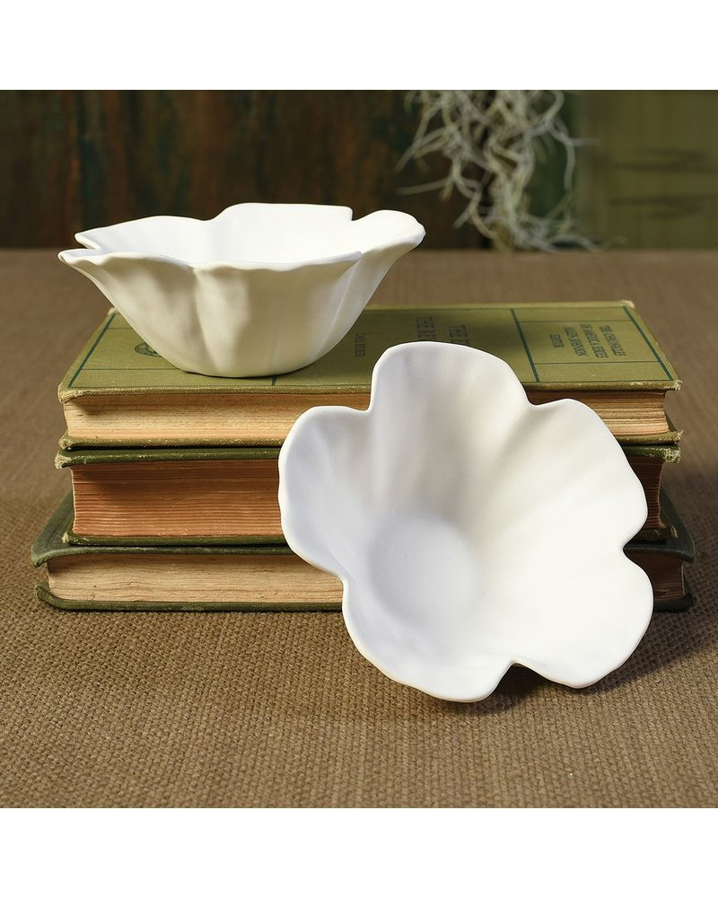 HomArt Hibiscus Floating Tealight Holder