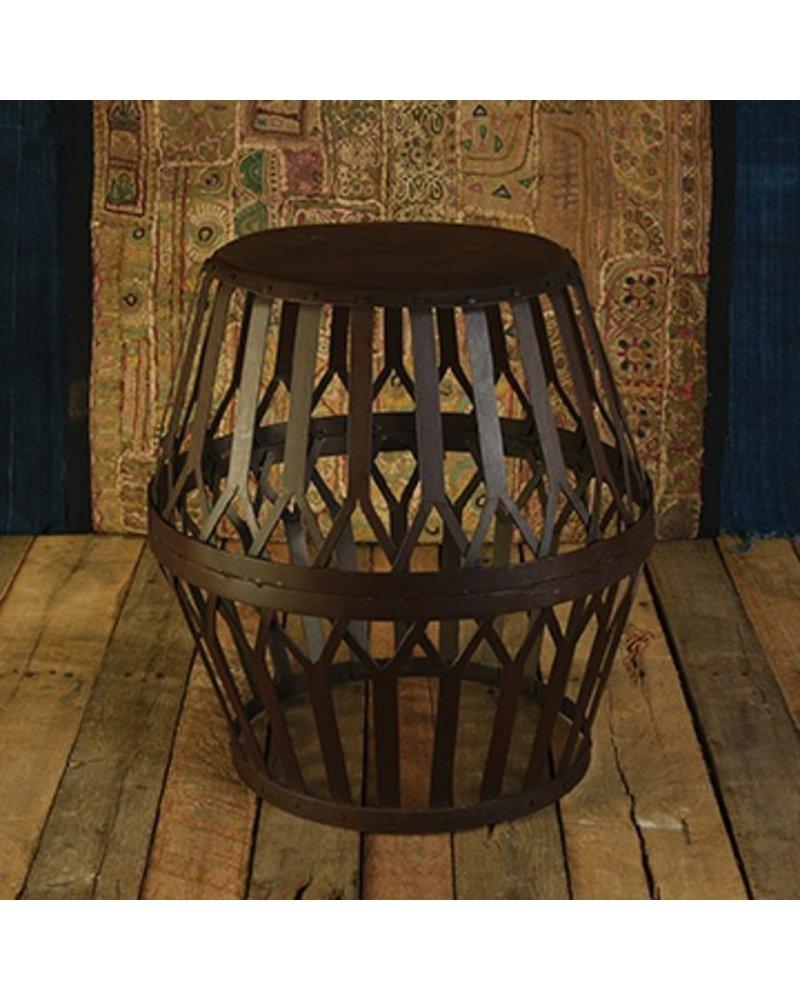 HomArt Woven Iron Side Table
