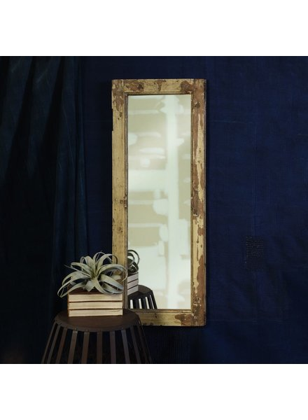 HomArt Salvaged Wood Shutter Mirror - Tall