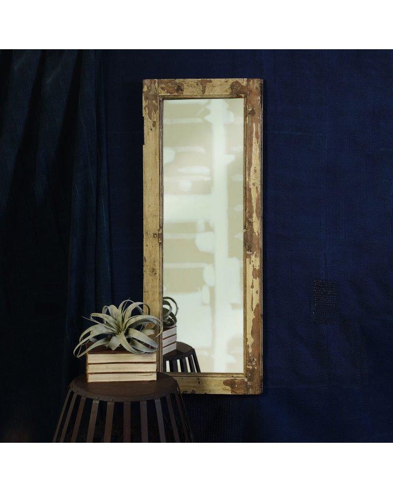 HomArt Salvaged Wood Shutter Mirror - Tall