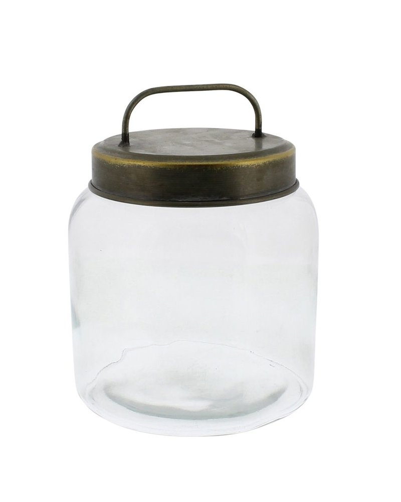 HomArt Archer Canister with Metal Lid - Sm