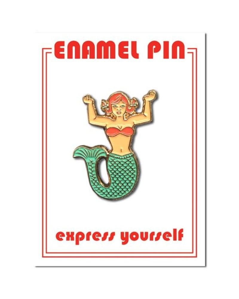 The Found Cards & Gifts Mermaid Enamel Pin