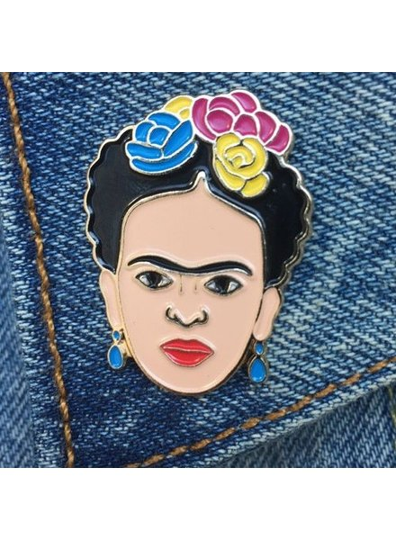 The Found Cards & Gifts Frida Kahlo Enamel Pin