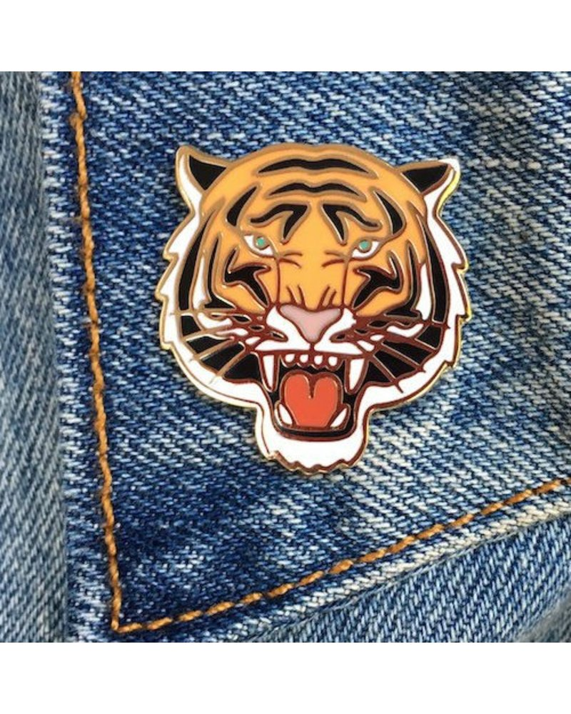The Found Cards & Gifts Tiger Enamel Pin
