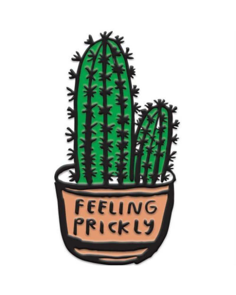 People I've Loved Feeling Prickly Enamel Pin