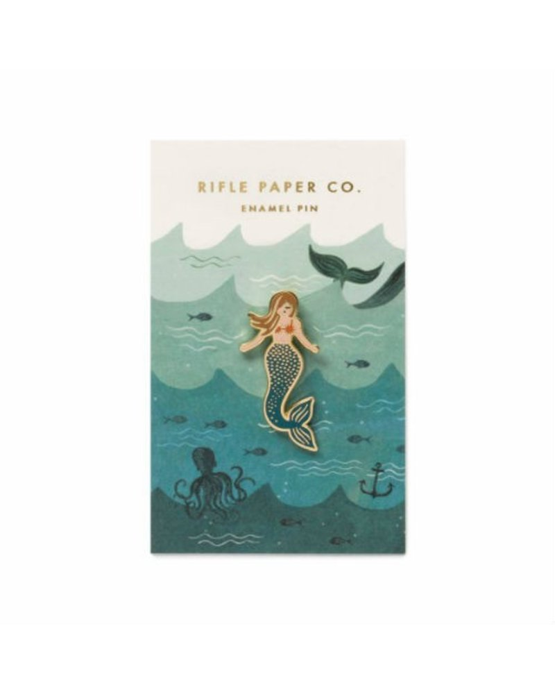 Rifle Paper Co Mermaid Rifle Paper Pin