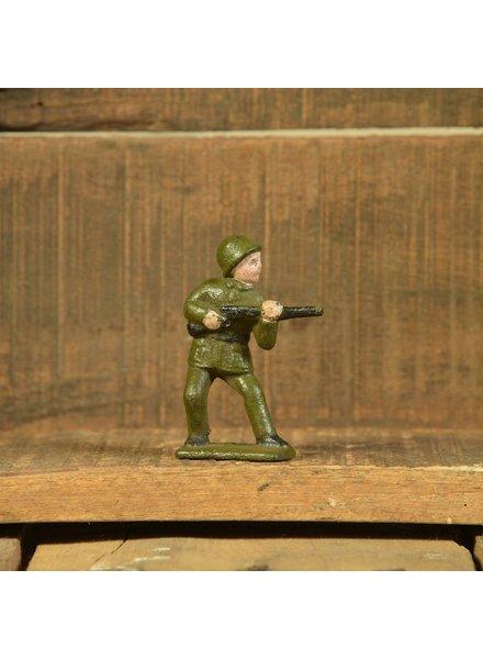HomArt Army Men Rifleman, Cast Iron