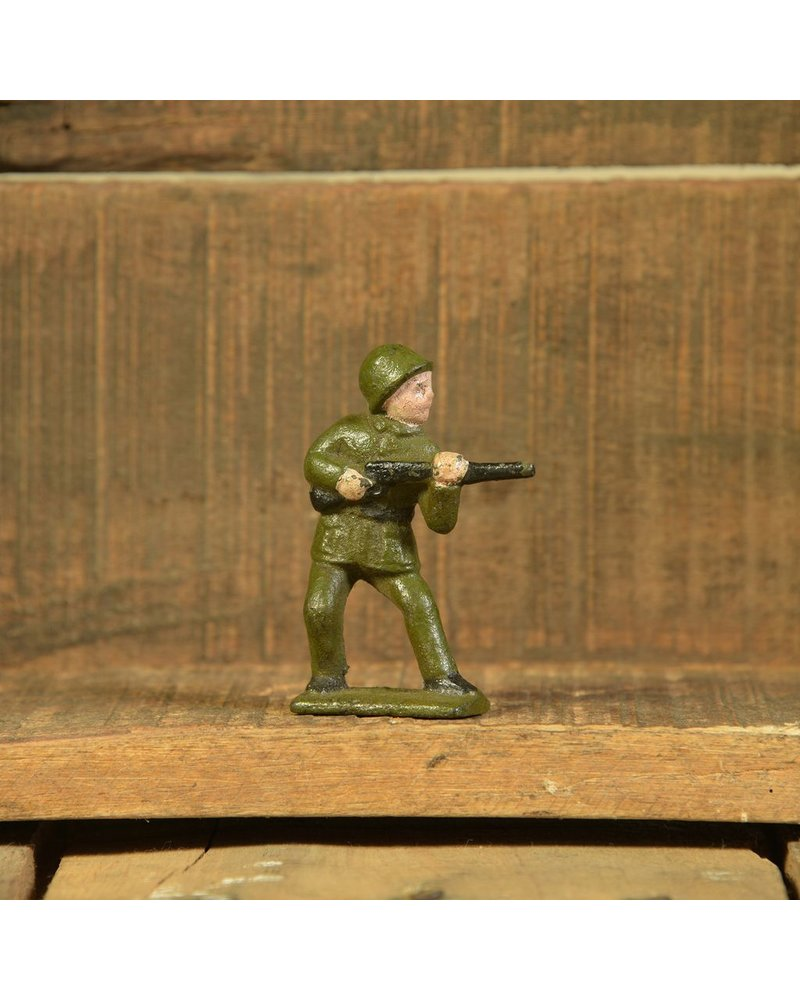 HomArt Army Men Rifleman, Cast Iron