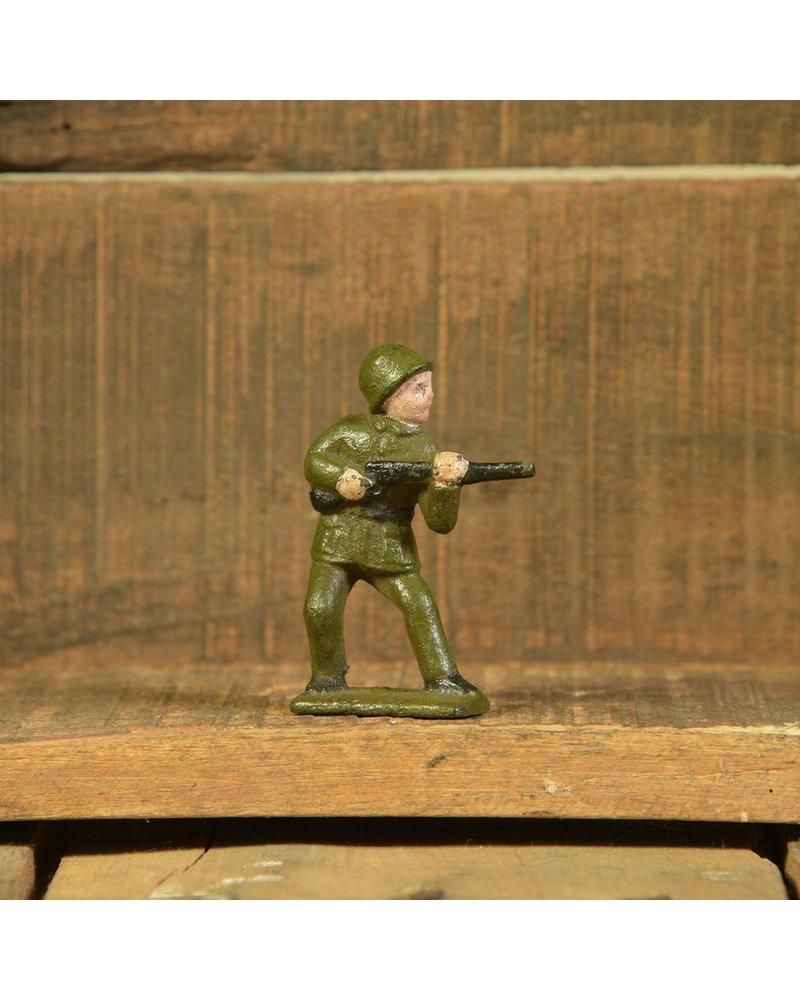 HomArt Cast Iron Army Men Rifleman - Set of 2