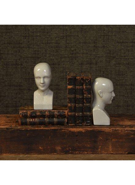 HomArt Phrenology Ceramic Head - Sm - Petite