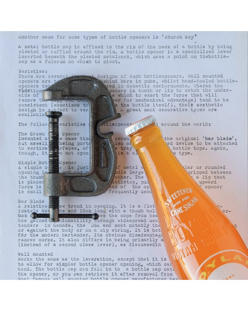 HomArt Vice Grip Bottle Opener - Black