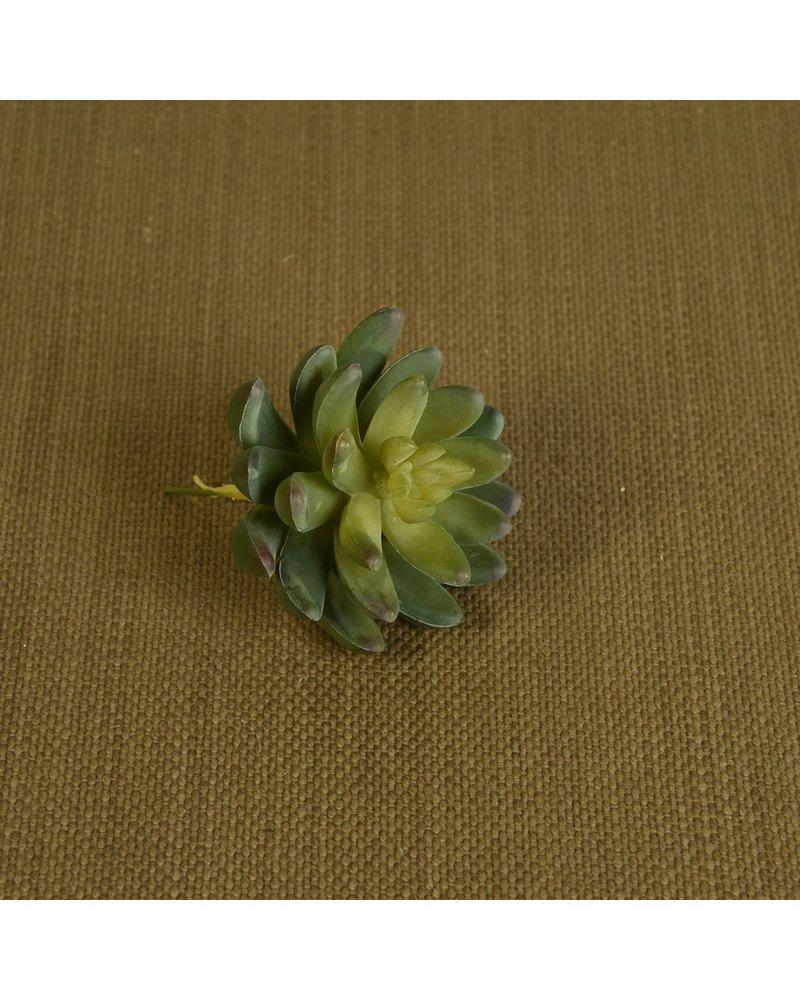 HomArt Large Green Faux Succulent - Set of 2