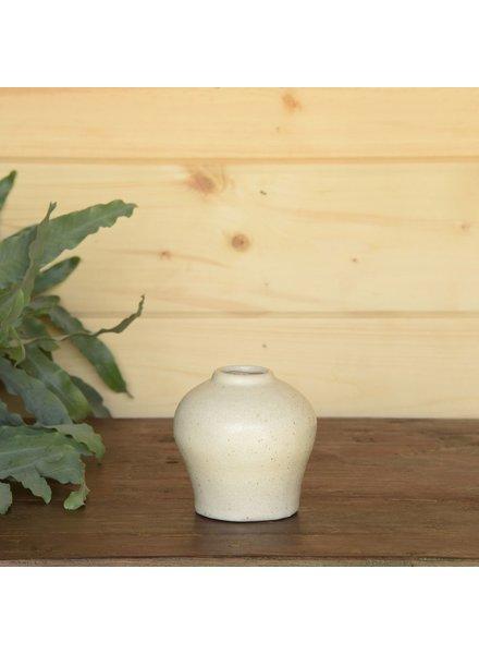 HomArt Anders Urn Vase - White - Set of 2